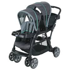 double stroller with car seat – plantoco
