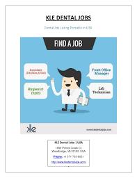 Dental Job Listing Sites In Usa
