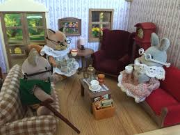 Sylvanian Families Country Living Room Set Toysrus Babiesrus - Swivel classy sylvanian families living room set