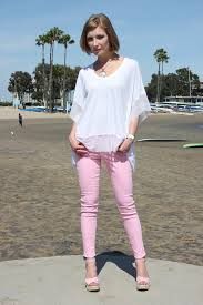 Cj By Cookie Johnson Jeans Size Chart Cj By Cookie Johnson Wisdom Ankle Skinny Jeans In Pink