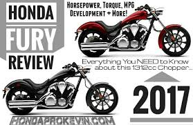 2017 honda fury 1300 review specs features changes