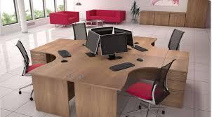 satellite rectangular black satellite crescent birch birch office furniture