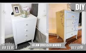 diy glitter furniture. Diy Dresser Drawer Pull Knobs Glitter Pearls, Painted Furniture Vanessa