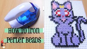 Perler Beads Patterns Extraordinary How To Iron Perler Beads Perfectly Tutorial YouTube