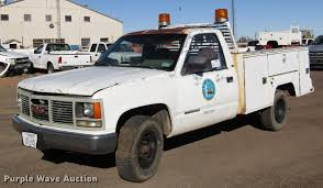 1989 GMC Sierra 2500 utility bed pickup truck | Item DB6911 ...