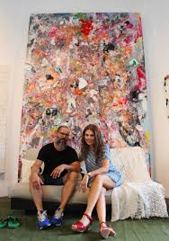 melvin martinez and i in his santurce studio