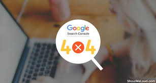 how to find 404 error pages using