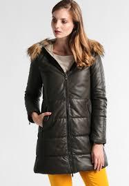 oakwood winter coat dark khaki women