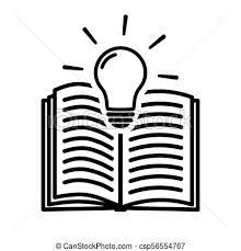 open book symbol csp56554767