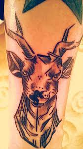 Tetování Jelen Tetování Tattoo