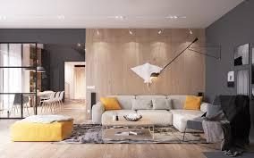Scandinavian Living Room Design Fascinating Scandinavian Living Room Designs Combined With Wooden