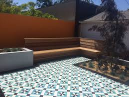 cement outdoor floor and wall tiles