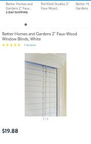 better homes and gardens 2 faux wood blinds white for in largo fl cordless instructions