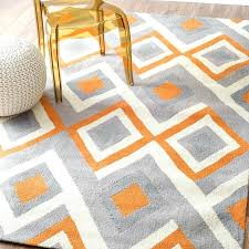 brilliant world menagerie deasia light gray orange area rug in and with regard to designs 8