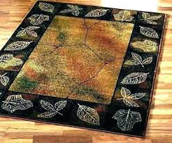 rustic lodge style area rugs chic rug furniture uk