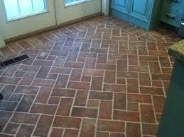 Old St Louis Antique Brick Floor Tile Installation 2 Source  Entryways And  Hallways Inglenook Brick Tiles Thin Brick Brick
