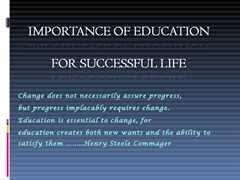 essays on importance of education co essays