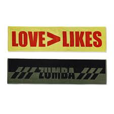 Zumba Love Over Likes Fitness Towels