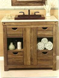 Rustic bathroom vanities 36 inch Rustic Wooden 36 Rustic Bathroom Vanity Rustic Aspen Log Bathroom Vanity Inch Reclaimed Furniture Leedonresidence 36 Rustic Bathroom Vanity Bathroom Vanities Cutler Kitchen Bath