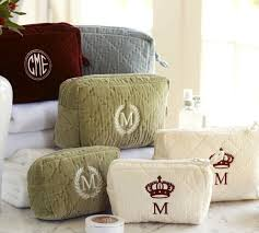 Diamond Quilted Velvet Cosmetic Bags, Set of 2 | Pottery Barn & Diamond Quilted Velvet Cosmetic Bags, Set of 2 Adamdwight.com