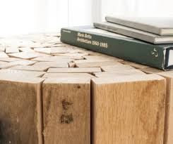 CR GTI Coffee Table From Recycled Wood Planks