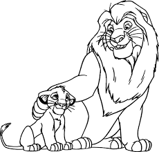 Small Picture Coloring Pages Lion King