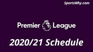 Premier League fixtures 2020/21 Schedule and PDF for download