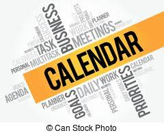 Image result for calendar word