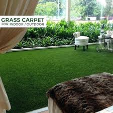 no mowing outdoor turf carpet low maintenance with friction non infill artificial