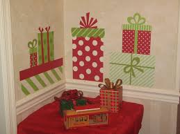 Wall Xmas Decorations Christmas Wall Decoration Ideas Arlene Designs