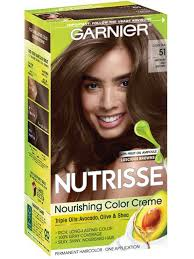 Creme Of Nature Permanent Hair Color Chart Medium Ash Brown 51 Cool Tea
