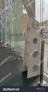 World Glass Design Glass Door Hinge Glass Buildings Structures Stock Image