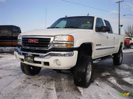 2005 Summit White GMC Sierra 2500HD SLT Crew Cab 4x4 #23986658 ...