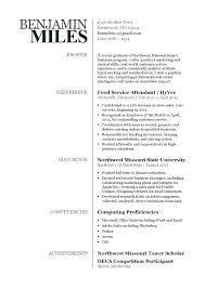 Recent College Grad Resume Examples Student Graduate Australia No