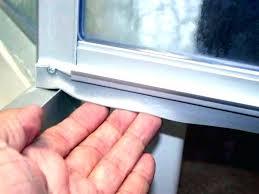 shower door sweeps shower door bottom sweep with drip rail shower door sweep replacement shower door