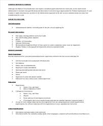 Format Of A Resume Awesome 28 Resume Formats PDF DOC Free Premium Templates