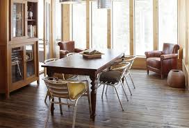 metal dining chair. ski house metal dining chair