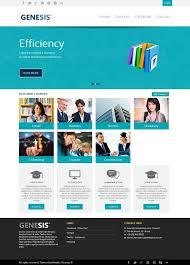 Portfolio Website Templates Delectable Professional Website Templates Business Themes Portfolio Web