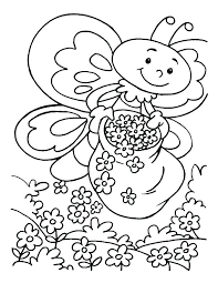 Spring Break Coloring Pages Free For Kids Printable Alex Photo