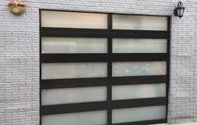 insulated glass garage doors. Unique Doors Aluminum Glass Doors On Insulated Garage A