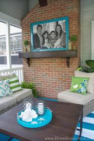 screen porch furniture ideas. Outdoor Decorating Ideas. Lowe S Screen Porch And Deck Makeover Reveal Furniture Ideas I