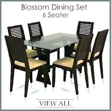 dining table chairs india dining room chairs dining table set for 6 dinning table blossom 6 options from dining dining room chairs