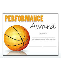 Microsoft Award Templates Basketball Award Templates Word Sports Certificate Template