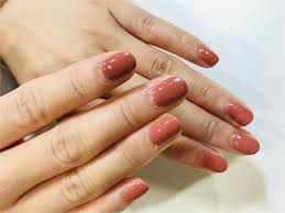 ワンカラーネイルシンプルイズザベスト目指せ美爪くすみ