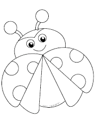 Lady Bug Coloring Sheet Lady Bug Coloring Pages Lotespolyleis Co