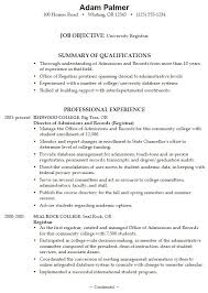Example High School Resume College - Templates