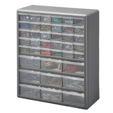 Storage Bin Cabinet Small Parts Organizers Tool Storage Tools The Home Depot