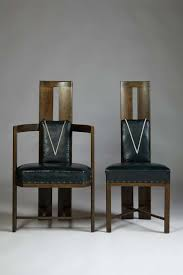 Set Of Dining Chairs Designed By Eliel Saarinen, Finland. Circa 1917. | From