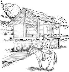Small Picture Landscape Coloring Page