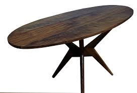 Modern Kitchen Tables Sets Hand Made Walnut Dining Table Modern Kitchen Table By Vermont